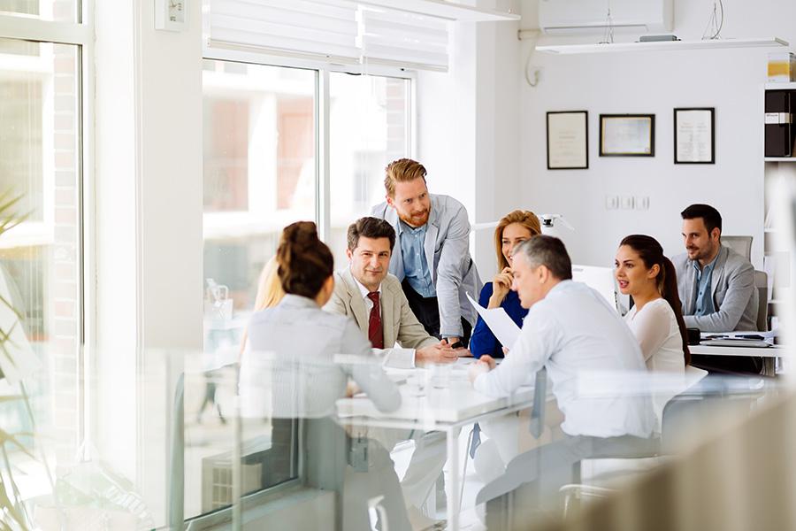 Small Talk: So plaudern Sie business-like