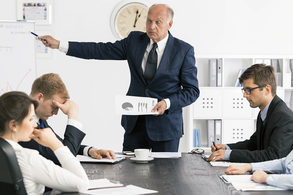 Wie Chefs ihre Mitarbeiter demotivieren