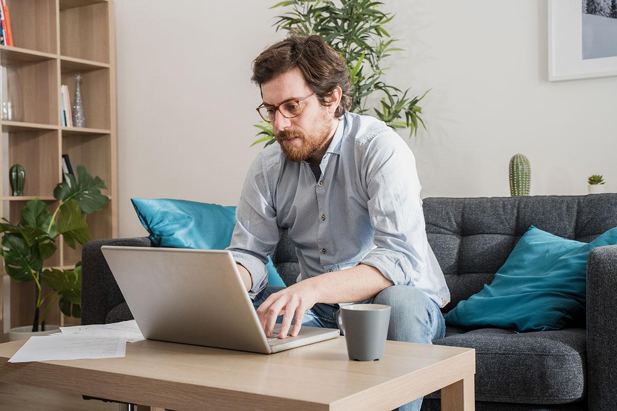 Wenn Arbeitnehmer regelmäßig von zu Hause aus arbeiten